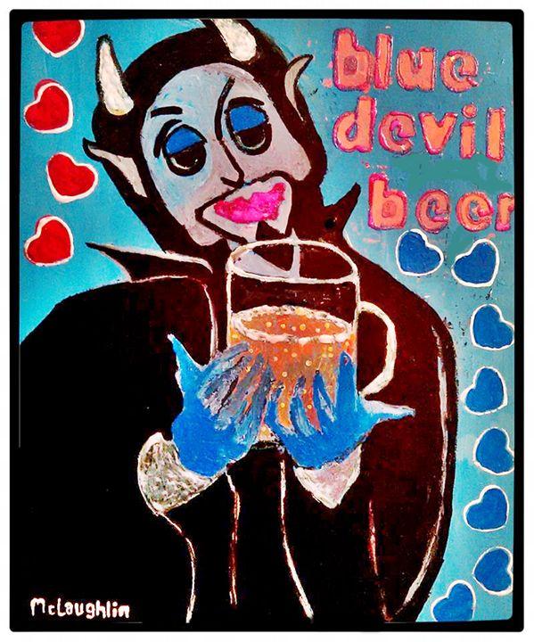 BLUE DEVIL BEER - Gregory McLaughlin - Artist