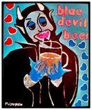 BLUE DEVIL BEER