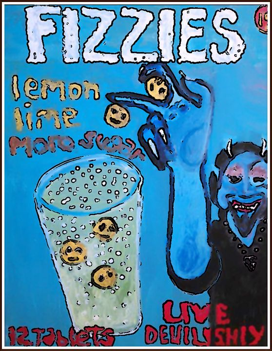 BLUE DEVIL FIZZIES - Gregory McLaughlin - Artist