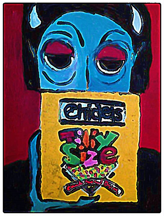 BLUE DEVIL CHICLETS - Gregory McLaughlin - Artist