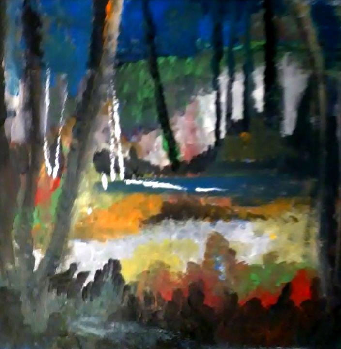 Dead Birch - Gregory McLaughlin - Artist