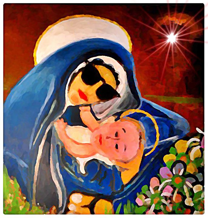 PreMadonna and Child - Gregory McLaughlin - Artist