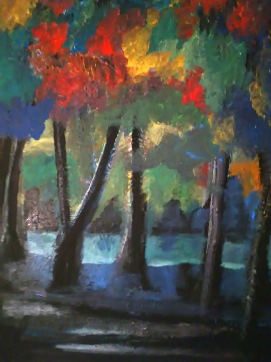 SHADY TREES - Gregory McLaughlin - Artist
