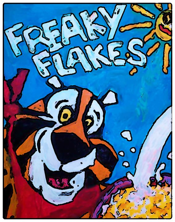 FREAKY FLAKES - Gregory McLaughlin - Artist