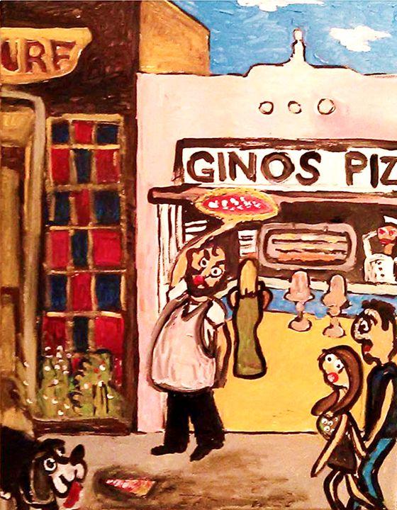 GINOS PIZZA - Gregory McLaughlin - Artist