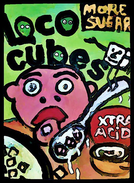 LOCO CUBES - Gregory McLaughlin - Artist