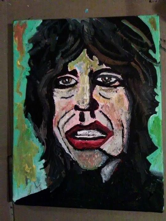 Mick Jagger - Gregory McLaughlin - Artist