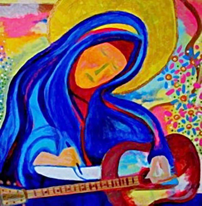 Our Lady of the Heavenly Muse - Gregory McLaughlin - Artist