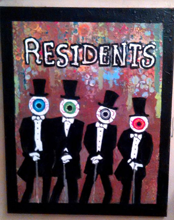 THE RESIDENTS - Gregory McLaughlin - Artist
