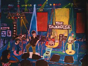 LIVE AT THE TALKHOUSE  - SOLD - Gregory McLaughlin - Artist