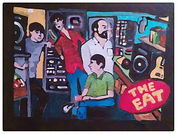 THE EAT - Gregory McLaughlin - Artist