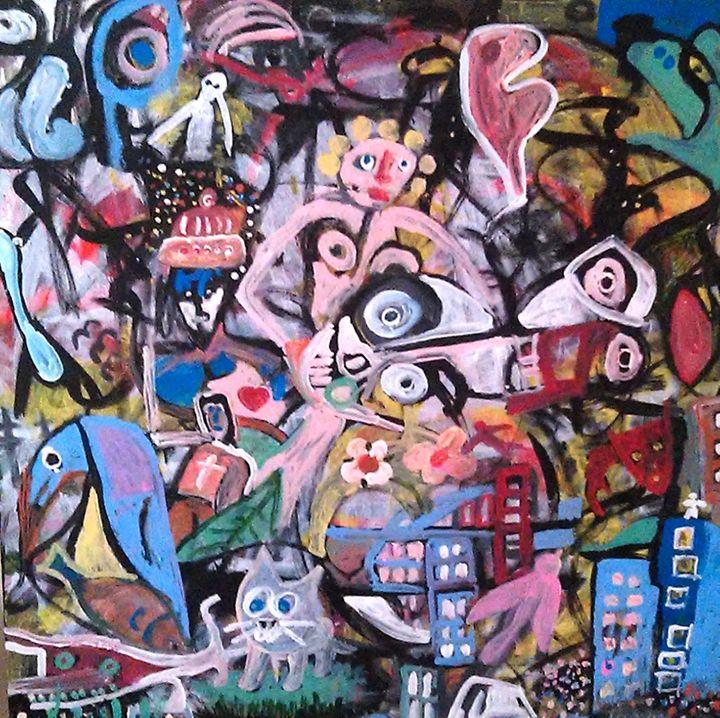 PANDEMONIUM - Gregory McLaughlin - Artist