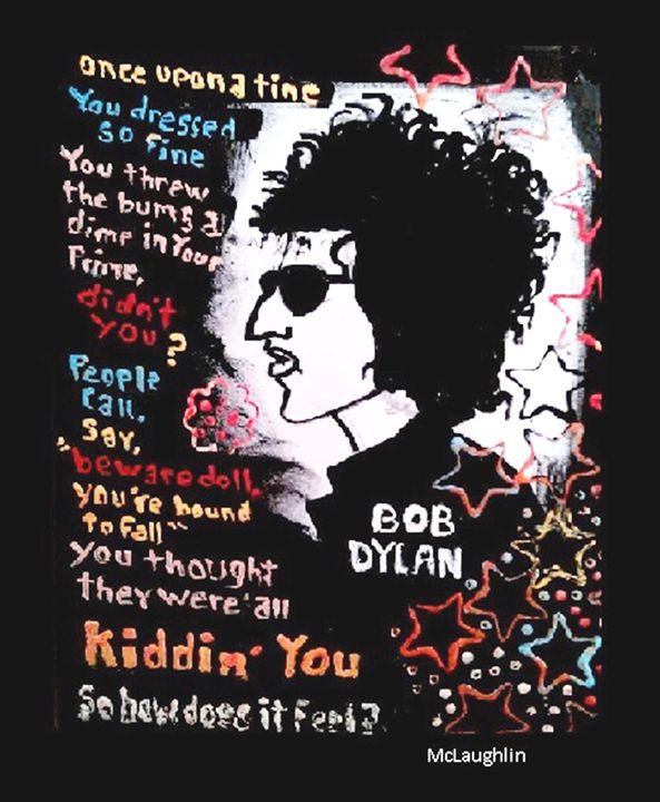 DYLAN - sold - Gregory McLaughlin - Artist