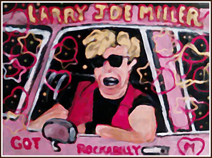 Larry Joe Miller Got Rockabilly - Gregory McLaughlin - Artist