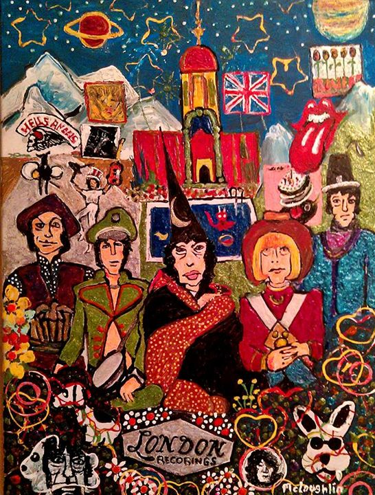 THEIR SATANIC MAJESTIES REQUEST - Gregory McLaughlin - Artist