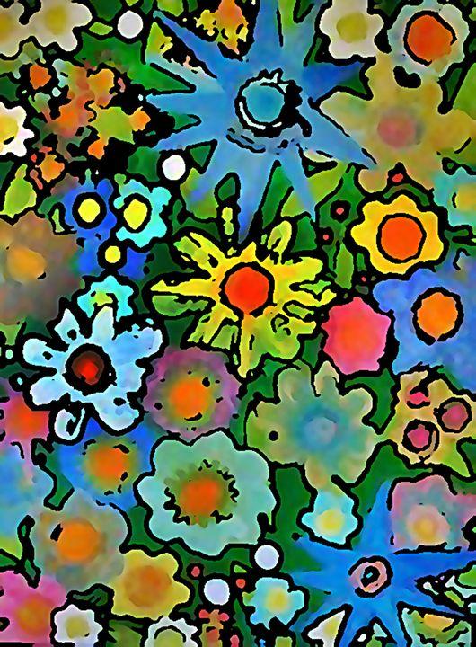 WALLFLOWERS - Gregory McLaughlin - Artist