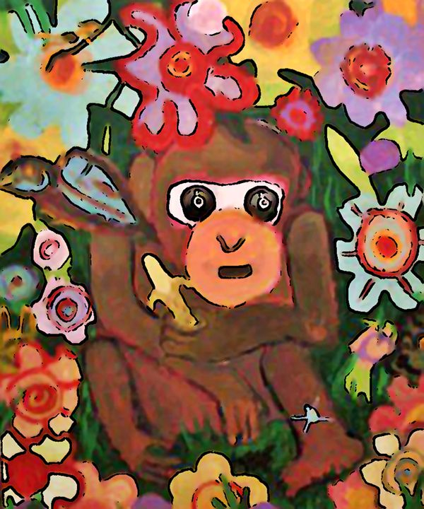 CHIMP - Gregory McLaughlin - Artist