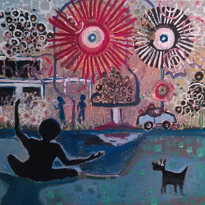 TRIPPING BY THE CANAL....SOLD - Gregory McLaughlin - Artist