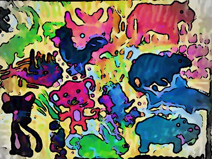 ANIMALS - Gregory McLaughlin - Artist