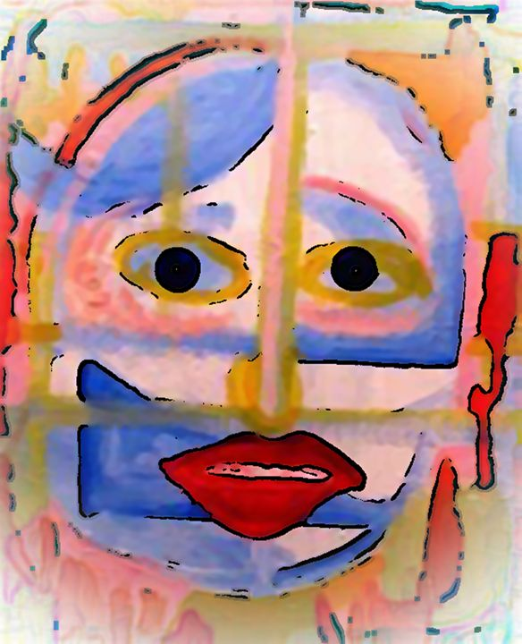 Face 2 - print - Gregory McLaughlin - Artist