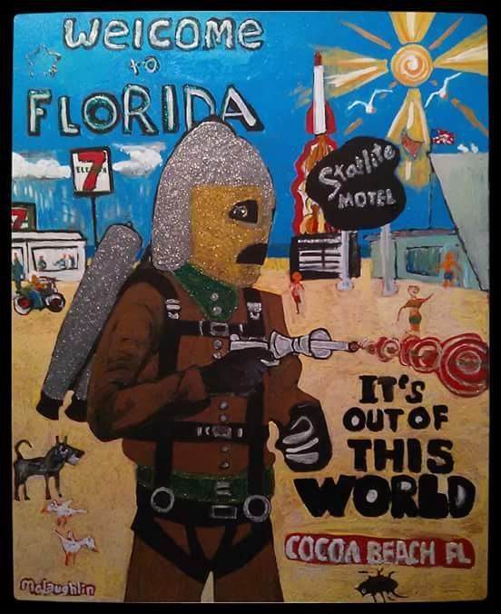 WELCOME TO FLORIDA - Gregory McLaughlin - Artist