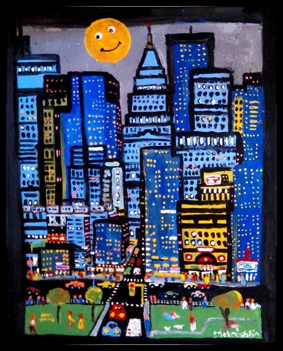 Downtown - Gregory McLaughlin - Artist