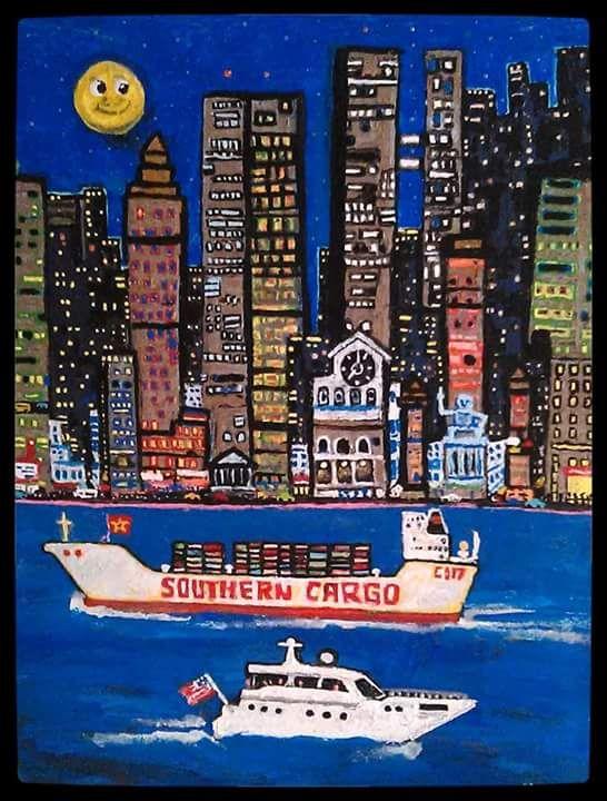 Southern Cargo - Gregory McLaughlin - Artist