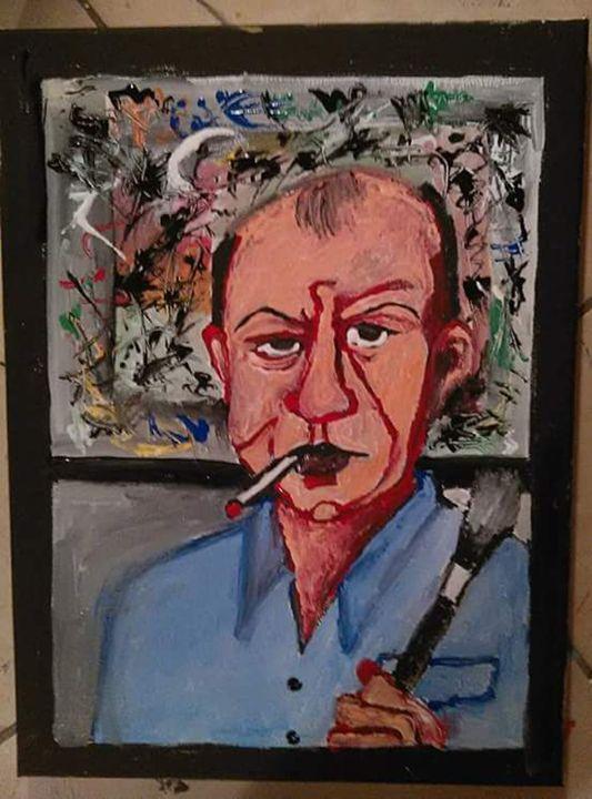 Jackson Pollock - Gregory McLaughlin - Artist