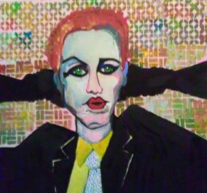 ANNIE LENOX - Gregory McLaughlin - Artist