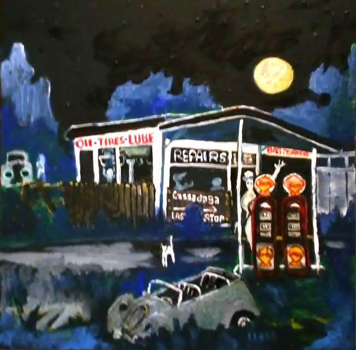 CASSADAGA GAS and REPAIR - Gregory McLaughlin - Artist