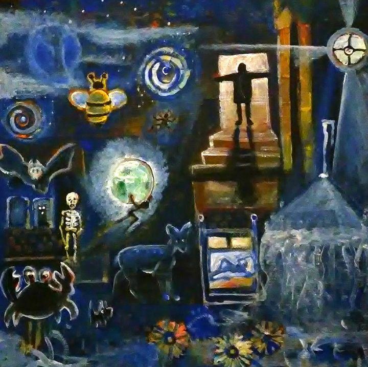 INTERIOR 1 - Gregory McLaughlin - Artist
