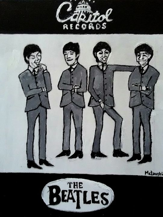 MEET THE BEATLES - Gregory McLaughlin - Artist