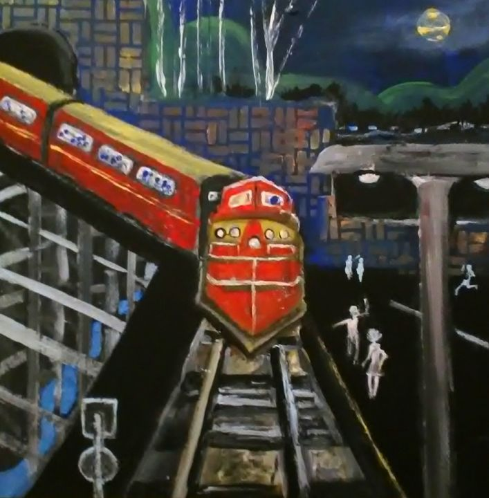 RED LINE EXPRESS - Gregory McLaughlin - Artist