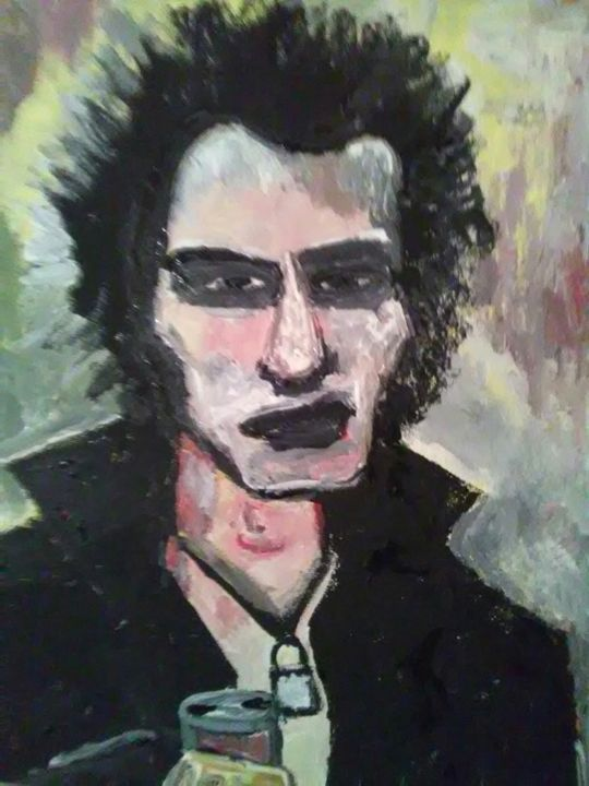 SID VICIOUS - SOLD - Gregory McLaughlin - Artist
