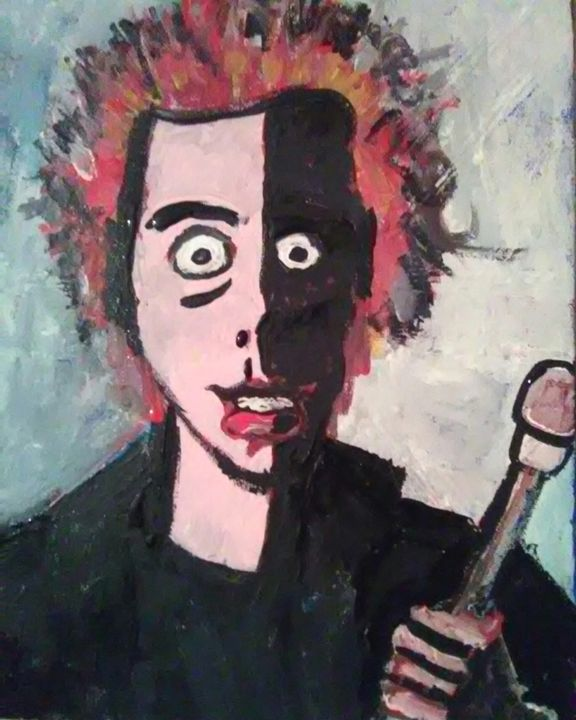 JOHNNY ROTTEN - SOLD - Gregory McLaughlin - Artist