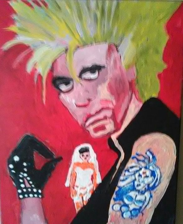 BILLY IDOL - Gregory McLaughlin - Artist