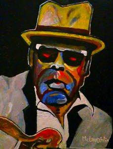 JOHN LEE HOOKER - Gregory McLaughlin - Artist