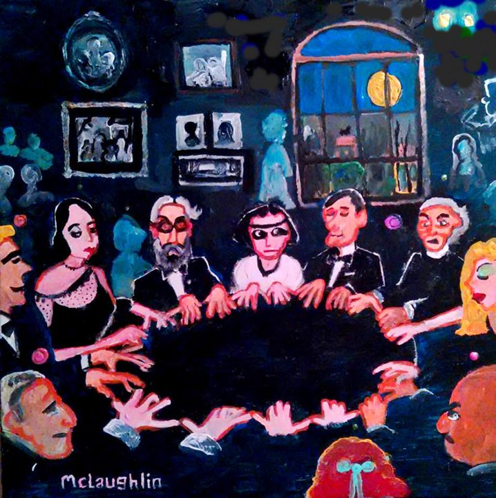 THE CASSADAGA ASSEMBLY - Gregory McLaughlin - Artist