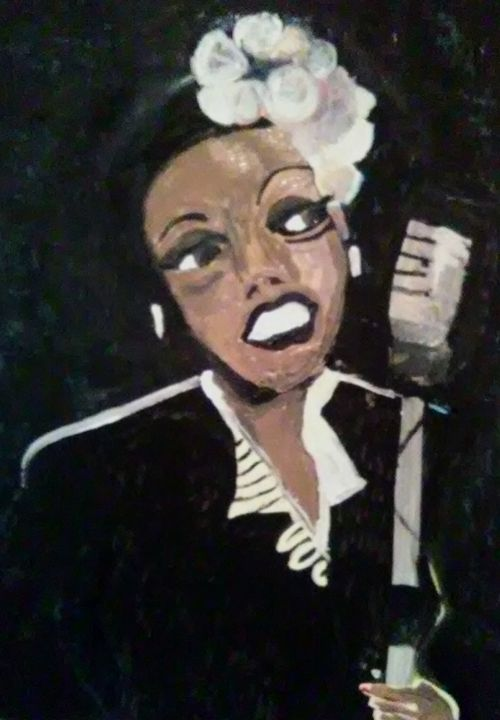 BILLY HOLIDAY - Gregory McLaughlin - Artist