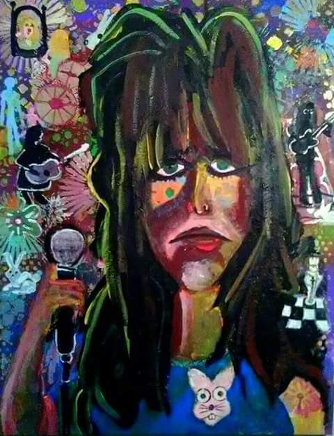 Grace Slick - Gregory McLaughlin - Artist