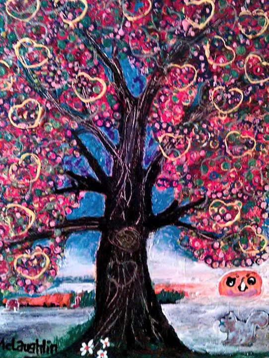LOVE TREE - Gregory McLaughlin - Artist