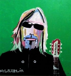 TOM PETTY #10. - Gregory McLaughlin - Artist