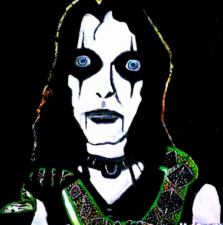 ALICE COOPER - Gregory McLaughlin - Artist