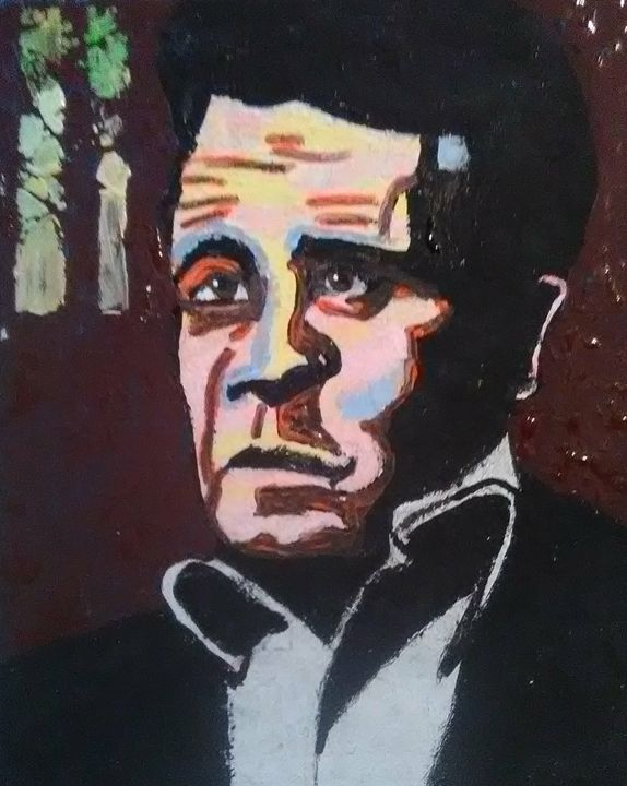 Johnny Cash SOLD - Gregory McLaughlin - Artist