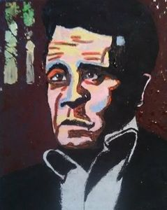 Johnny Cash SOLD - Gregory McLaughlin - Artist