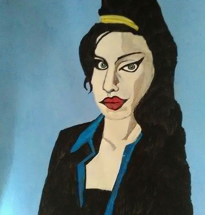 Amy Winehouse 1 - Gregory McLaughlin - Artist