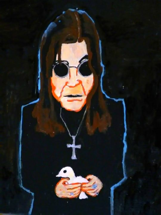 OZZY THE PRINCE OF DARKNESS original - Gregory McLaughlin - Artist