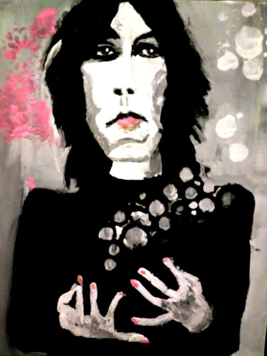 PATTI SMITH original painting - Gregory McLaughlin - Artist