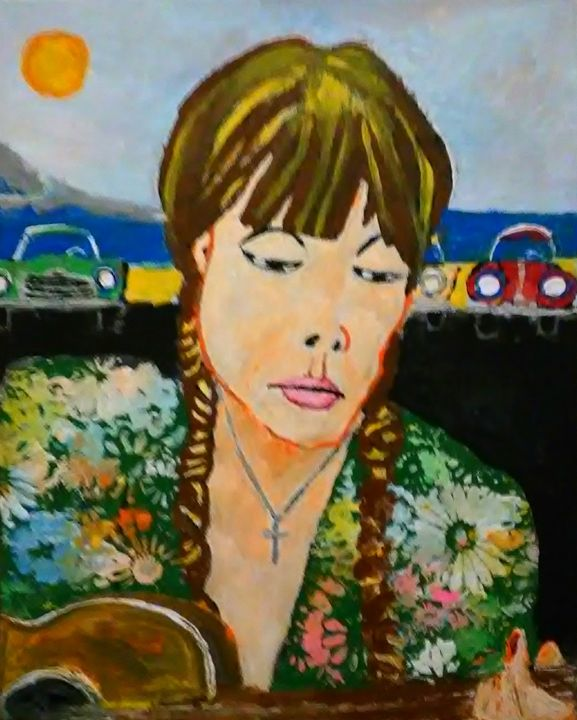 JONI MITCHELL   SOLD - Gregory McLaughlin - Artist
