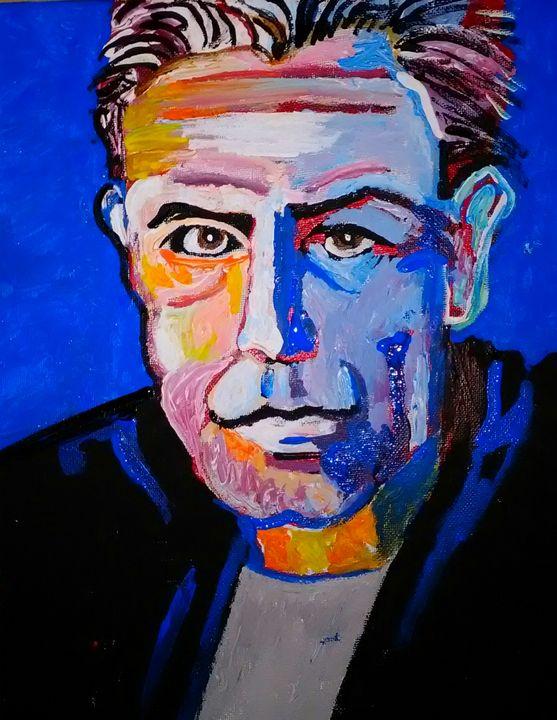 Anthony Bourdain - Gregory McLaughlin - Artist